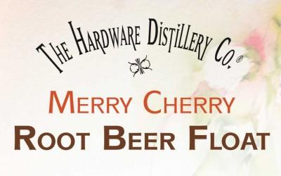 Merry Cherry Root Beer Float