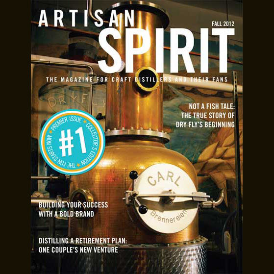 We're in the inaugural issue of Artisan Spirit Magazine